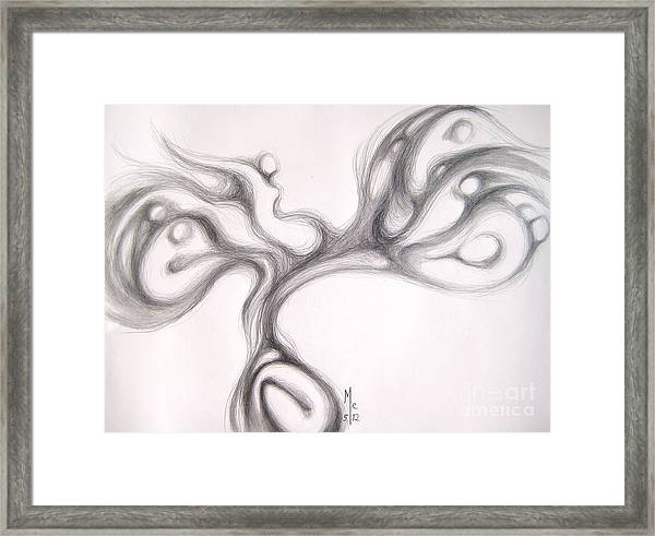 Root Of Diversity Framed Print
