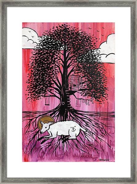 Rooted In Him Framed Print