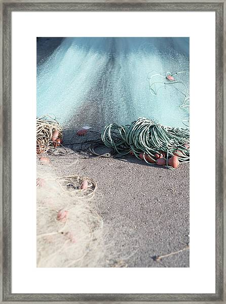 Rope Vision Framed Print