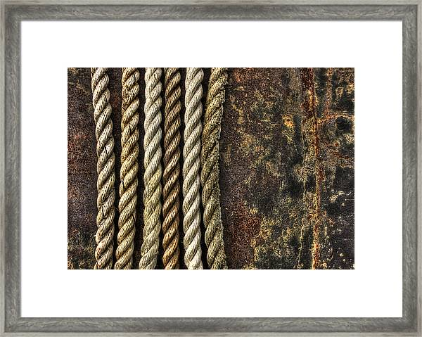 Ropes Framed Print