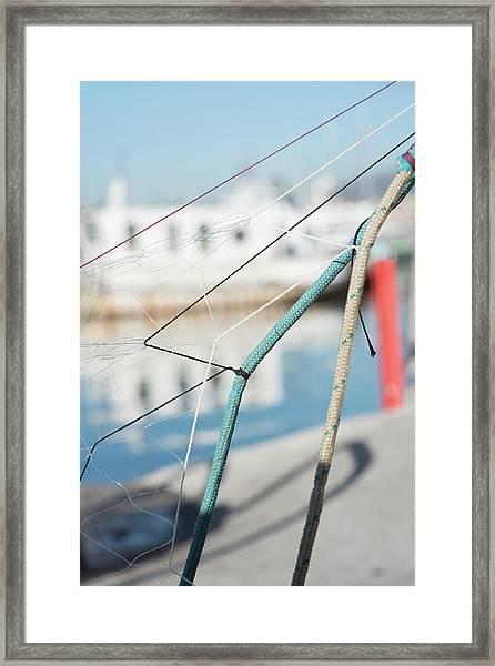 Ropes Framed Print