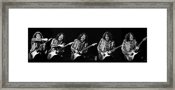 Rory Gallagher 5 Framed Print