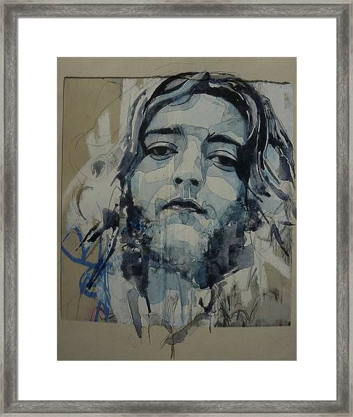 Rory Gallagher Framed Print