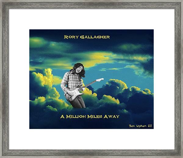 Million Miles Away Framed Print