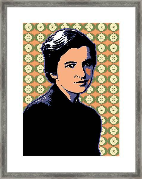 Rosalind Franklin Framed Print