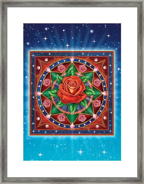 Rose - Pure Love Framed Print