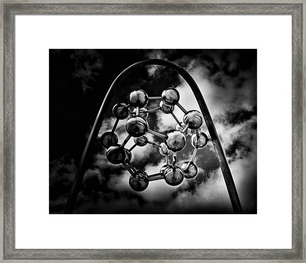 Rosehill Reservoir Fountain Sculpture Toronto Canada No 3 Framed Print