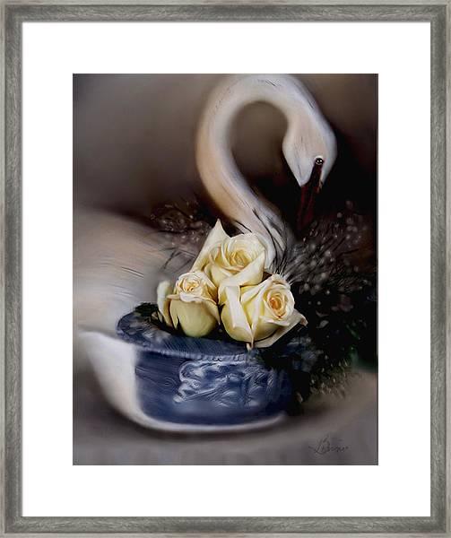 roses for Susan Framed Print