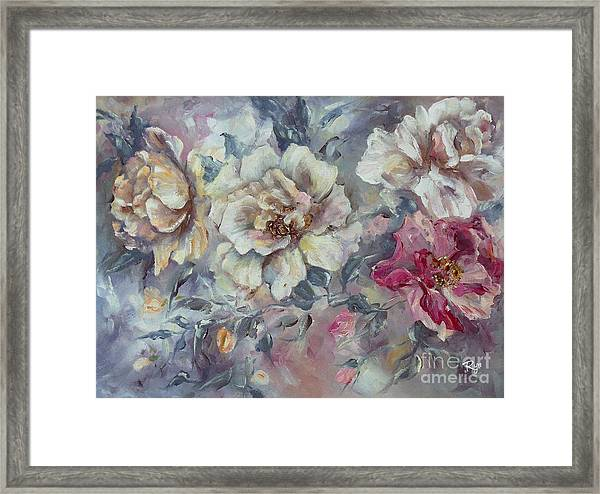 Roses From A Friend Framed Print