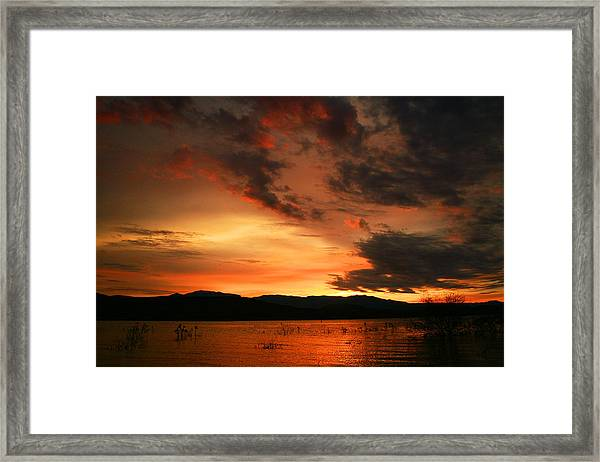 Rosevelt Sunrise Framed Print