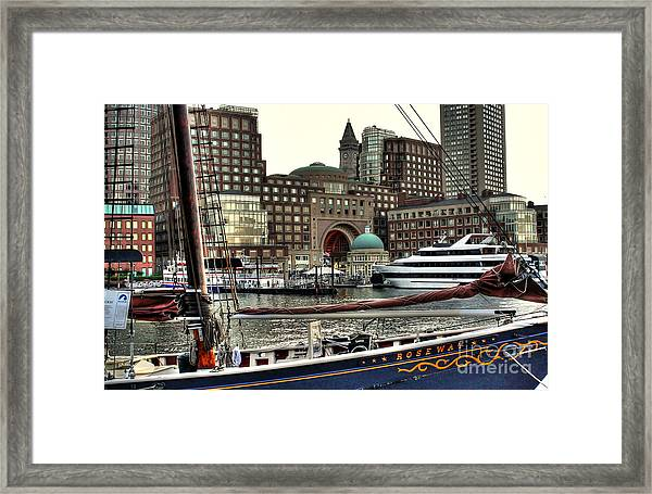Roseway Boston Framed Print