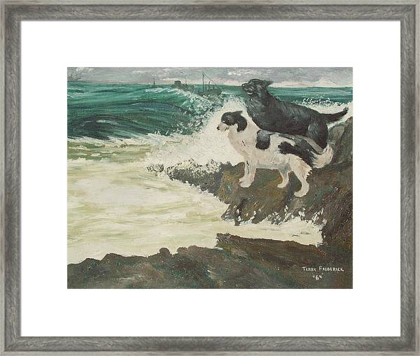 Roughsea Framed Print