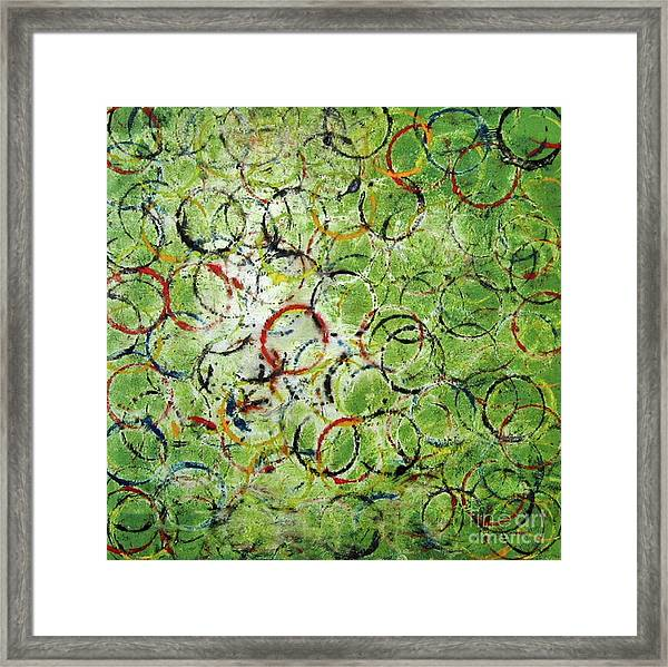 Round About 2 Framed Print