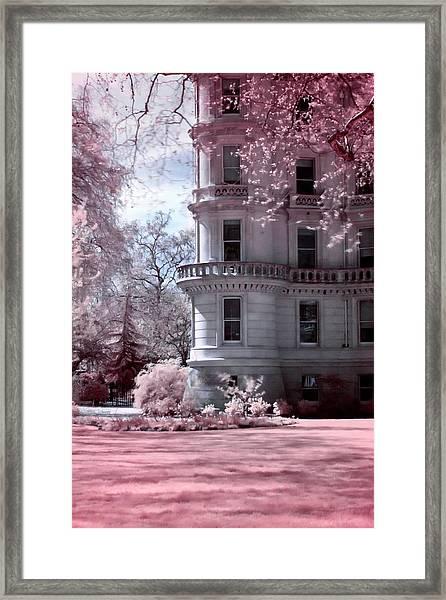 Rounded Corner Tower Framed Print