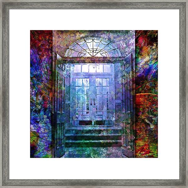 Rounded Doors Framed Print