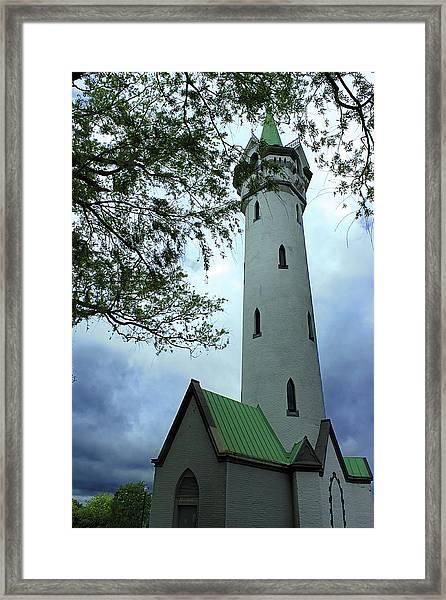 Roxbury High Fort Framed Print
