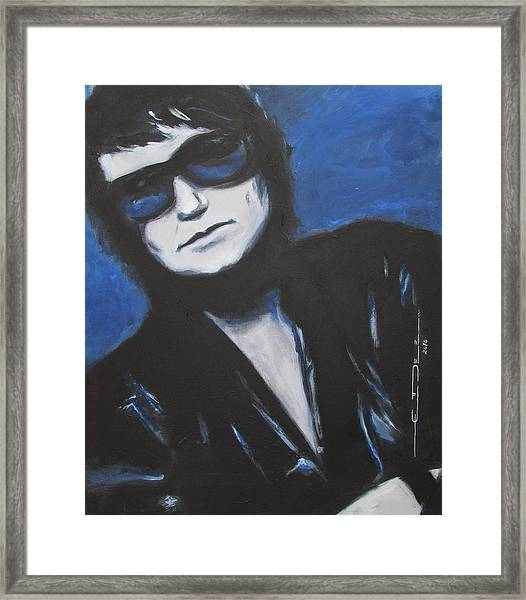 Roy Orbison In Beautiful Dreams - Forever Framed Print