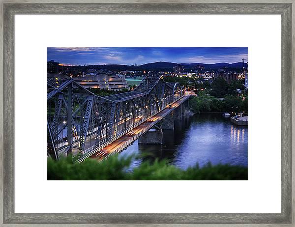 Royal Alexandra Interprovincial Bridge Framed Print