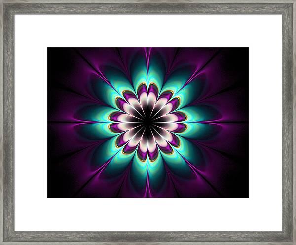 Royal Purple Framed Print