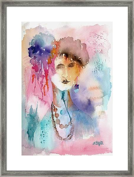 Rozz Framed Print