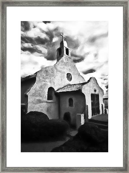 Rt 4 Church Framed Print