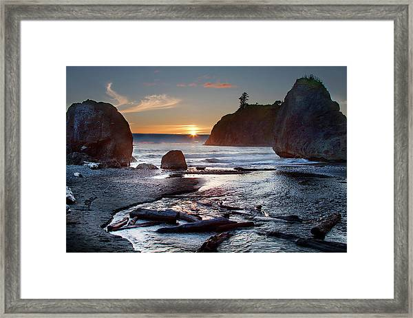 Ruby Beach #1 Framed Print