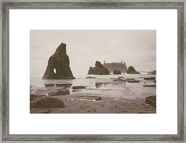 Ruby Beach No. 14 Framed Print