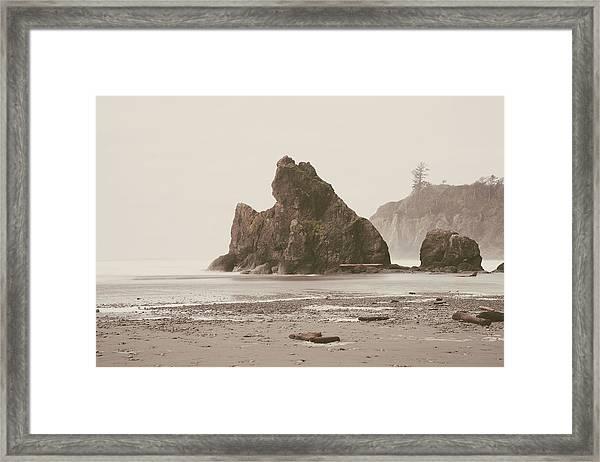 Ruby Beach No. 17 Framed Print
