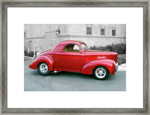 Ruby Slipper Framed Print