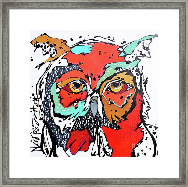 Ruby Two Framed Print