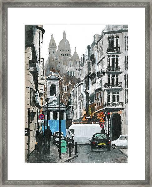 Rue Lafitte Framed Print