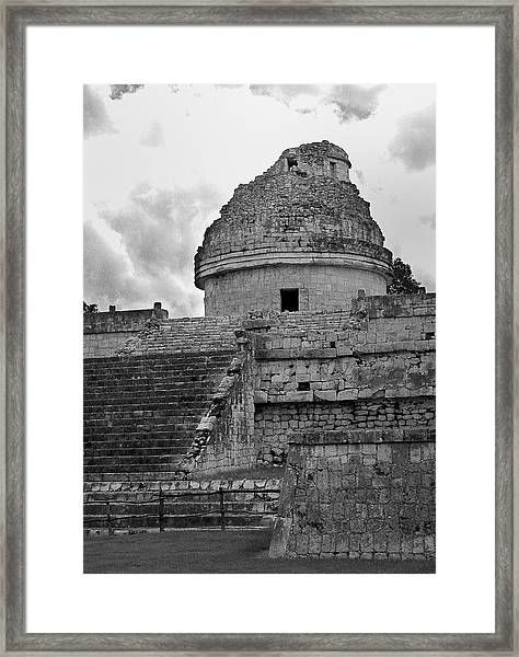 Ruins At Chichen Itza 3 Framed Print
