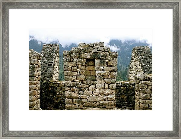 Ruins In A Lost City Framed Print