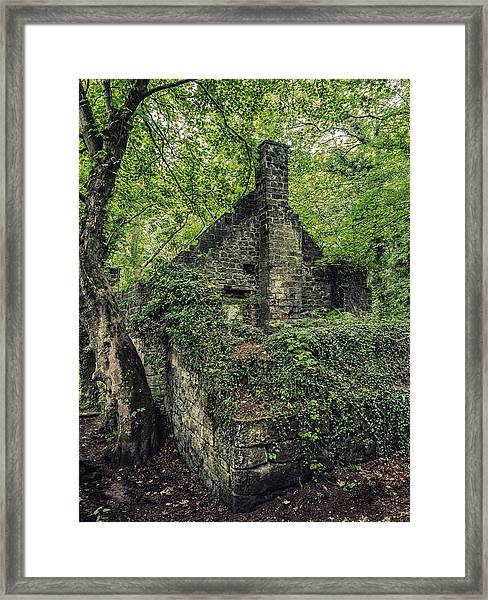 Framed Print featuring the photograph Run Down Mill by Nick Bywater