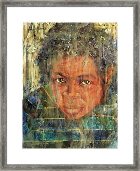 Runaway Silva Framed Print
