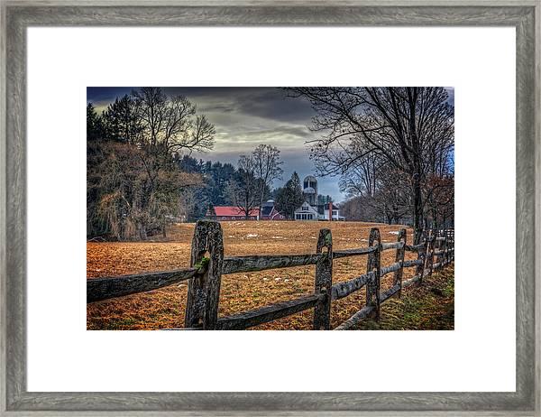 Rural America Framed Print