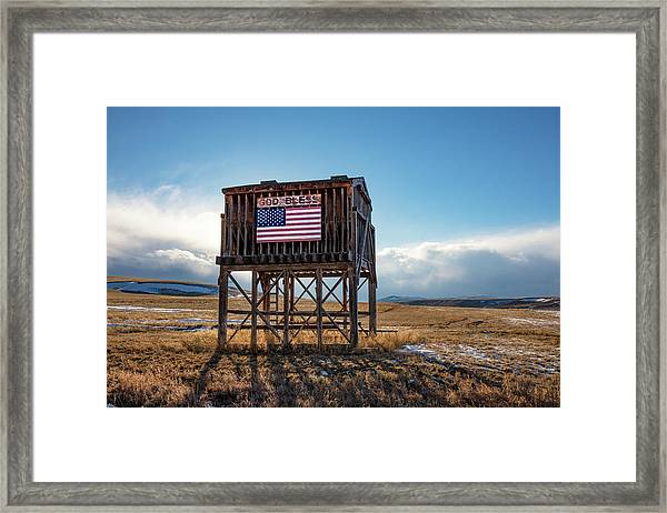 Rural Blessing Framed Print