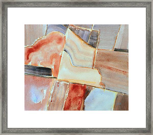 Rural Landscape 6  Framed Print