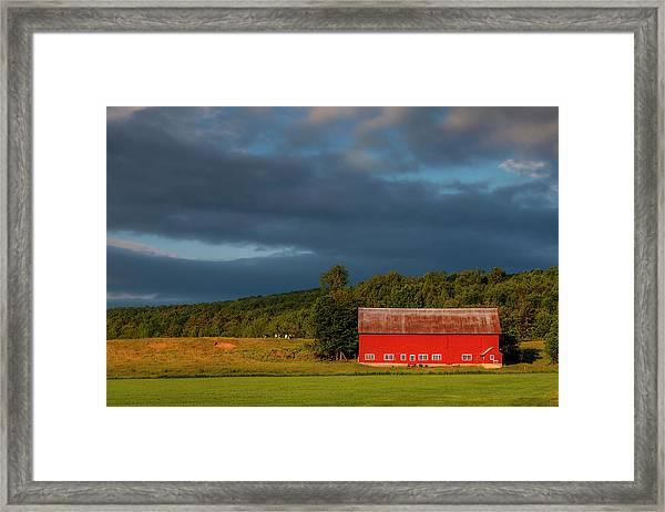 Rural Vermont Framed Print