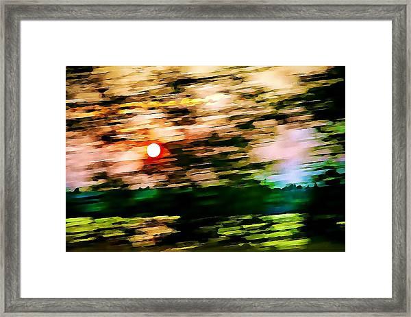 Rush To Go Home Framed Print