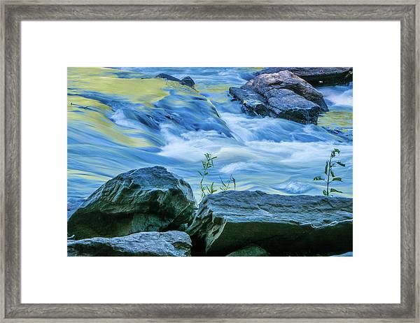 Rushing Creek Framed Print