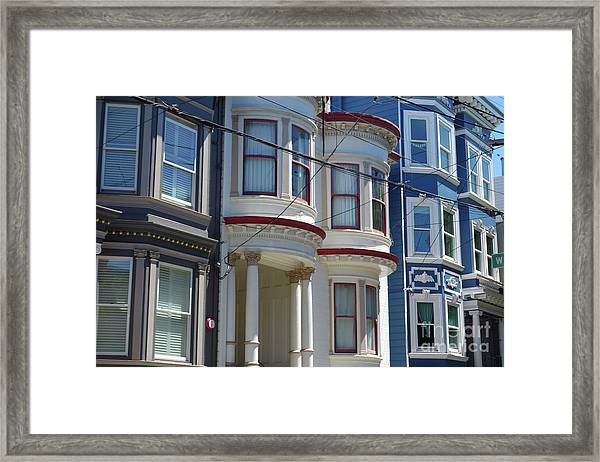 Russian Hill Framed Print