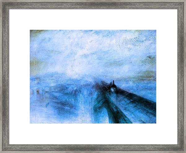 Rustic 4 Turner Framed Print