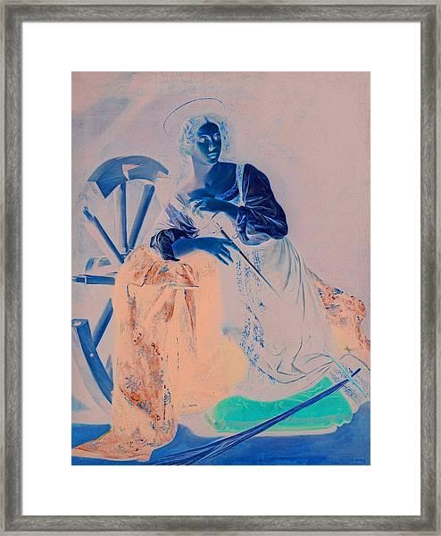 Rustic 7 Caravaggio Framed Print