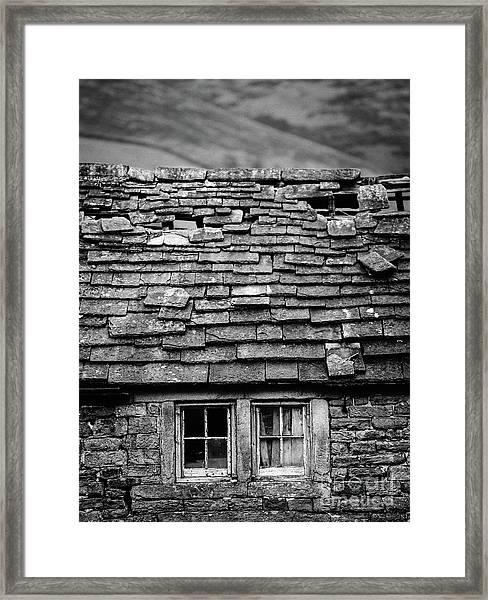Rustic Cottage Framed Print