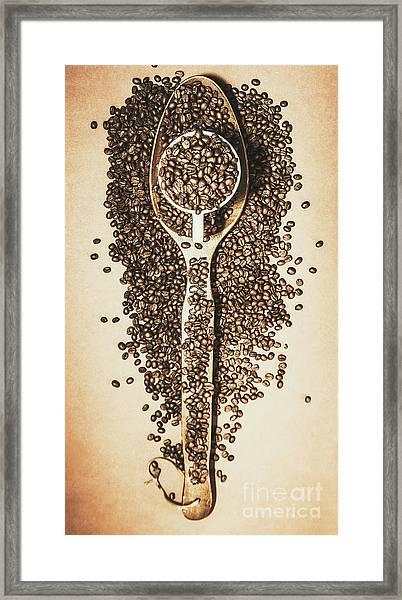 Rustic Drinks Artwork Framed Print