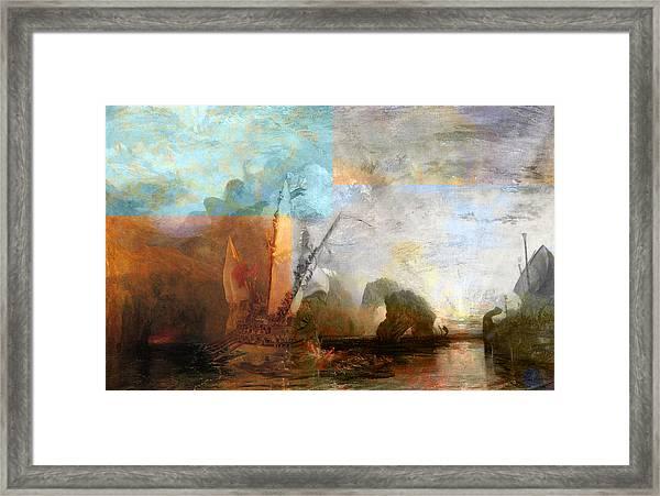 Rustic I Turner Framed Print
