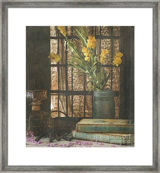 Rustic Still Life 1 Framed Print
