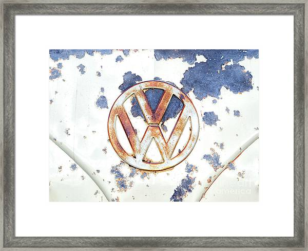 Rustorating Framed Print