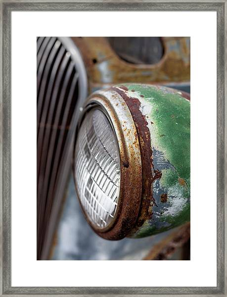 Rusty Detail Framed Print